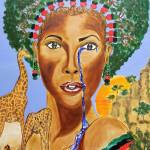 """Mother Earth by Jerome Robertson"" by Lamp_ArtProject"