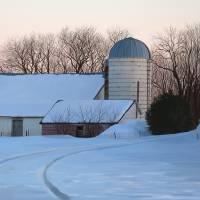 Winter Farm by Roger Dullinger