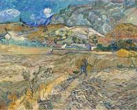 Vincent Van Gogh Landscape At Saint-Remy