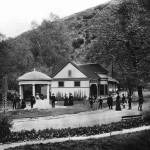"""Alum Rock Park, San Jose c1900"" by worldwidearchive"