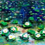 """Pond with Lilies"" by galina"