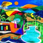 """""""Puerto Rico in the Night"""" by galina"""