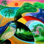 """Sunset in Boqueron, Puerto Rico"" by galina"