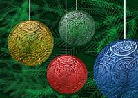 Coloful Celtic Ornaments