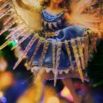 """Blue Ice Christmas Tree Fairy"" by bloomingvinedesign"