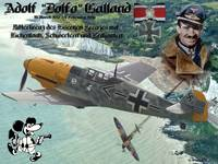 Adolf Galland over Dover