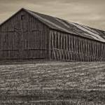 """Connecticut Hilltop Tobacco Barn"" by WilshireImages"