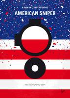 No435 My American Sniper minimal movie poster