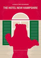 No443 My The Hotel New Hampshire minimal movie pos
