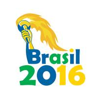 Brasil 2016 Summer Games Athlete Hand Torch