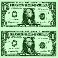 GEORGE WASHINGTON-DOLLAR BILL