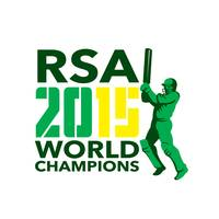 South Africa SA Cricket 2015 World Champions