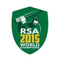 South Africa Cricket 2015 World Champions Shield
