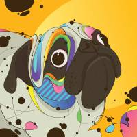 Pug Art Prints & Posters by Rubens LP