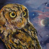 Night Owl Art Prints & Posters by Michael Creese