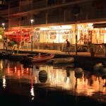 """""""Marigot Marina Boardwalk at Night"""" by RoupenBaker"""
