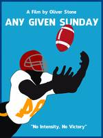 Any Given Sunday Minimalist Movie Poster