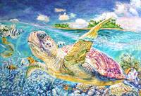 Sea Turtle (oil)