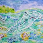 """""""The Hammerhead shark"""" by Liliya_Chernaya"""