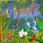 """THE HAPPY RAIN FOREST"" by ROFFEART"