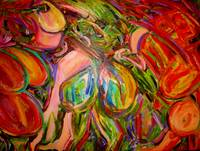 1 Laura Davis_Garden of Women II_Oil on canvas_ x-
