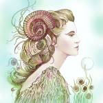 """""""""""THE ARIES"""" - Protective Angel for Zodiac Sign"""" by Hannahart"""