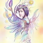 """""""""""THE CANCER"""" - Protective Angel for Zodiac Sign"""" by Hannahart"""
