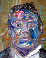 Laura Davis_Portrait of George Dyer_20 x 16 inches