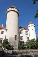 Castle tower.