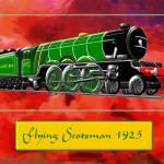 Steam Locomotive - The Flying Scotsman 1923