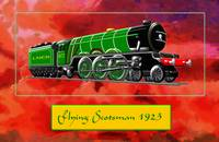 Steam Locomotive - The Flying Scotsman 1923