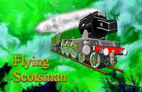 Flying Scotsman with Blinkers