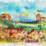 """Country Side Spain Mixed Media"" by GinetteCallaway"