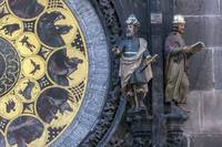 Astronomical clock calendar.