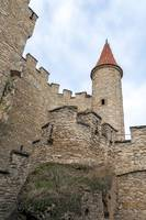 Medieval castle tower.