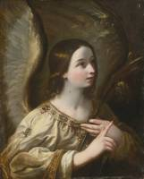 CIRCLE OF GUIDO RENI, ANGEL OF THE ANNUNCIATION