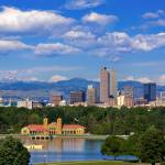 """Denver Morning Skyline"" by Santomarco"
