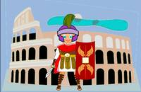 Roman Toon Boy - no gladiator rebellion tonight
