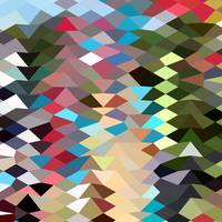 Multi Color Abstract Low Polygon Background