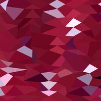 Carmine Red Abstract Low Polygon Background