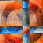 """Circles Abstract 3"" by fielding"