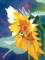Sunflower and the Bee