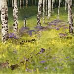"""Aspen Meadow, Rocky Mountain National Park"" by vickeysart"