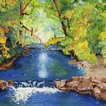 """Boulder Creek, Boulder Colorado"" by vickeysart"