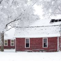 Red Barns and Snow Art Prints & Posters by Craig Sterken