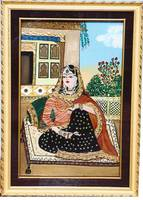 Princess- Original tanjore painting