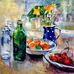 """still life palette knife"" by anthonybarrow"