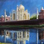 """The Taj Mahal Shrine of Beauty"" by Unique_designs"