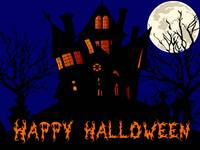 Happy Halloween Scary House, Full Moon