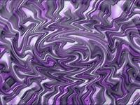 Purple Trippy Swirl Abstract